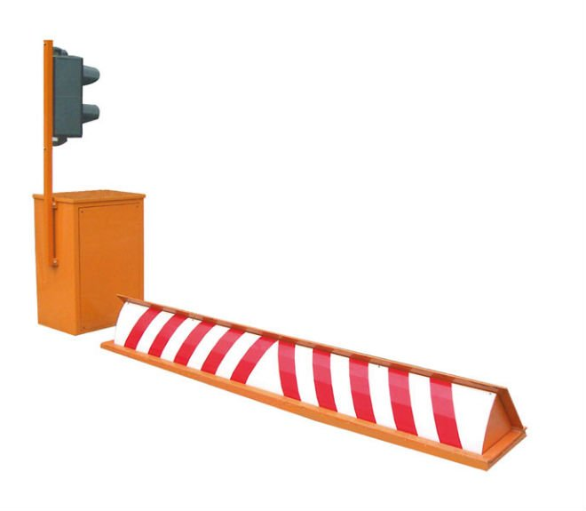 control acces mecanic road blocker